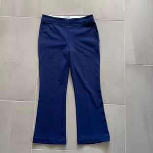 Grey Jason Wu navy blue crop pants